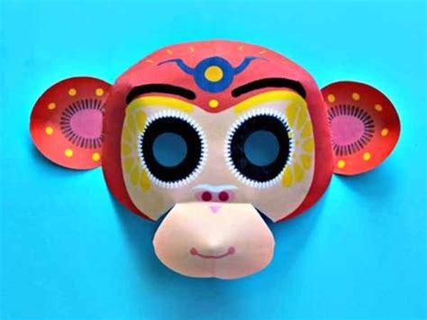 new year 2016 monkey masks new year monkey mask 2016 year of the monkey
