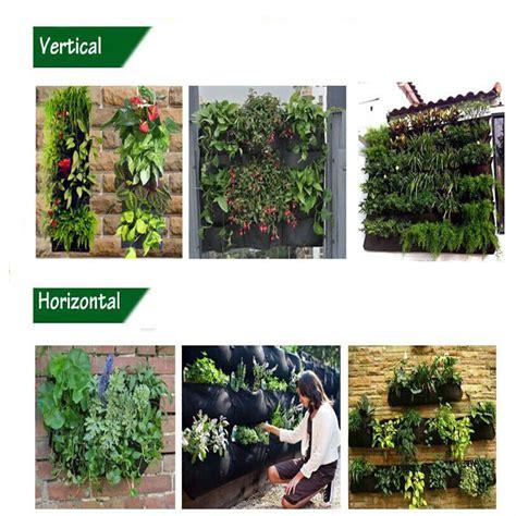 Felt Vertical Garden Felt Fabric Plant Wall Vertical Garden 2017 New Style Wall