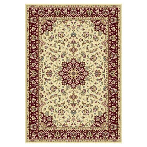 10 x 10 area rugs kas rugs hudson classic ivory 7 ft 7 in x 10 ft 10 in area rug kin641277x1010 the home