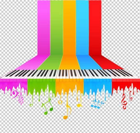 imagenes de notas musicales en colores notas musicales de colores www pixshark com images