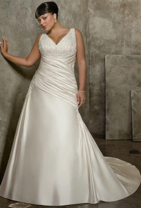 wedding gowns for plus size brides weddingelation