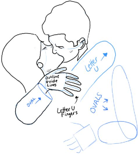 how to draw kissing drawing a passionate kiss for