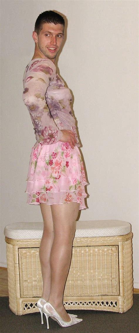 my husband wears sissy dresses embracing his feminine side male femininity on display