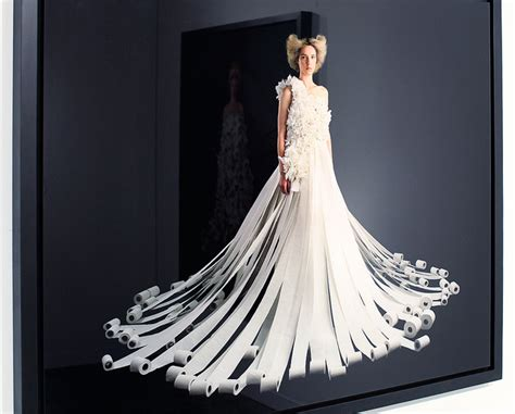 paper wedding dress a toilet paper wedding dress lipstick and leopard print