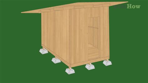 build  shed  steps  pictures wikihow
