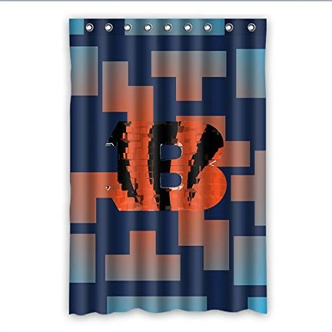 cincinnati bengals shower curtain bengals bath rugs cincinnati bengals bath rug bengals