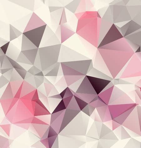 design background shape pink geometric shapes background vector graphics free