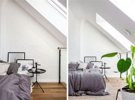 scandinavian inspired bedroom world of white and gray scandinavian style apartment in