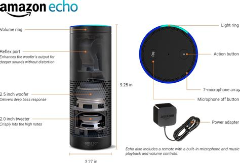 amazon echo series add a voice to your home with amazon s new amazon echo puts siri style smarts in a column of cloud