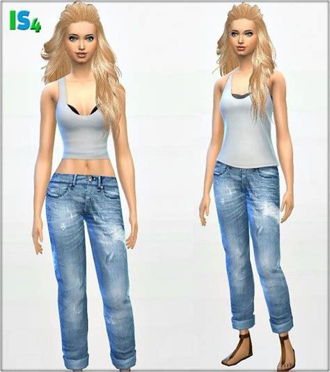sims 4 cc boyfriend jeans 59 best sims 4 cc jeans shoes and hair images on pinterest