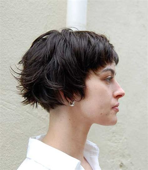 layered blunt cut bob short layered haircuts for women the best short