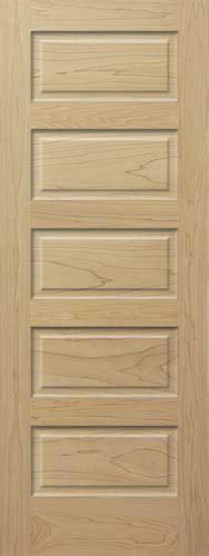 5 Panel Interior Wood Door Poplar Horizontal 5 Panel Wood Interior Doors Homestead Doors