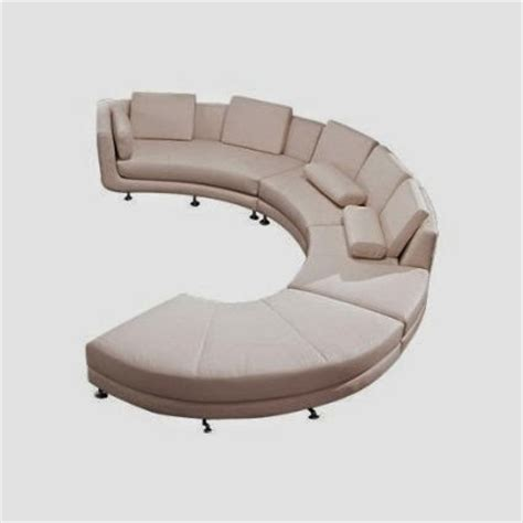 Curved White Sofa White Leather Curved White Leather