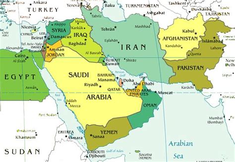 middle east map future middle east past present and future