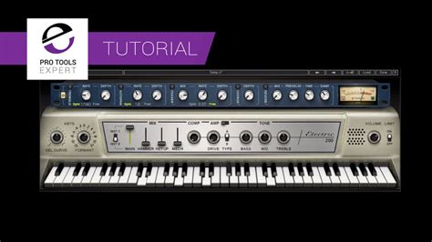 keyboard instrument tutorial tutorial using the waves electric 200 electric piano