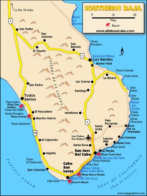 map of cabo san lucas los cabos mexico travelworldpedia us