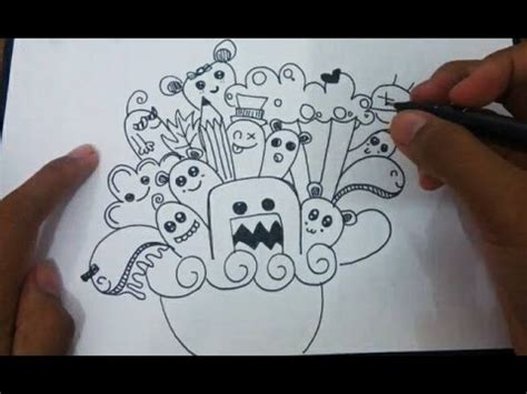 how to make doodle name for beginners how to doodle doodle tutorial cara menggambar