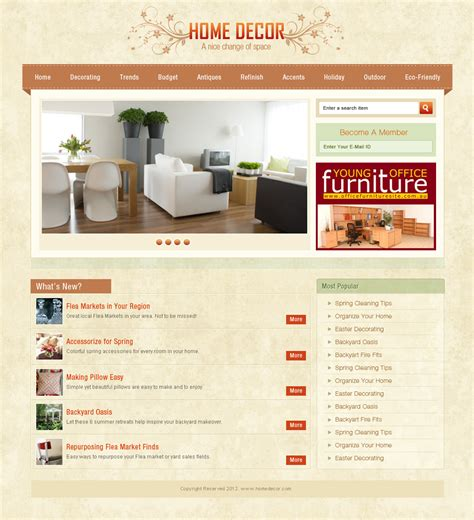 home page design peenmedia