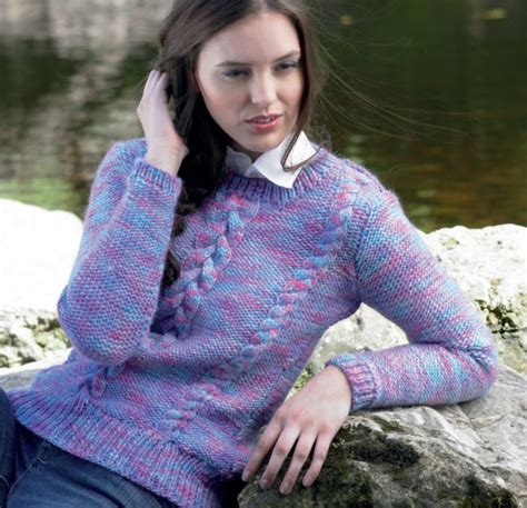 free knitting patterns for sweaters sweater with cables free knitting pattern knitting bee