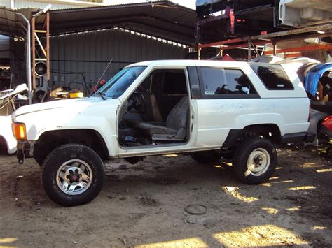 Rancho Toyota Recycling 1986 Toyota 4runner Dlx 2 4l Auto 4wd Color White Stk
