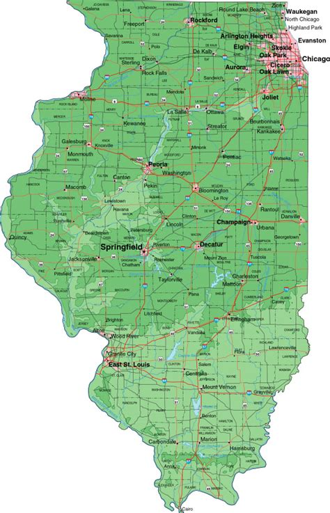 illinios map illinois cropmap