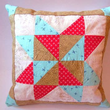 Patchwork Cushion Cover - patchwork pillow cover decorative pillow from