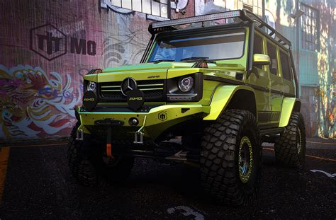 mercedes jeep custom this mercedes g class wouldn t look out of place in