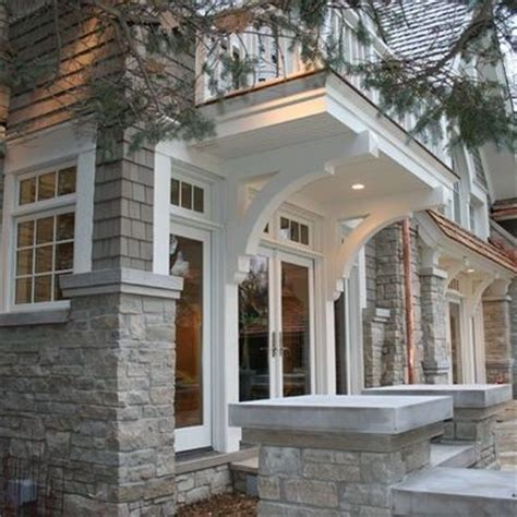 Window Corbels Millwork Overhang Home Reno Ideas