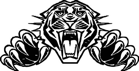 coloring pages of tiger face tiger attack face coloring page wecoloringpage