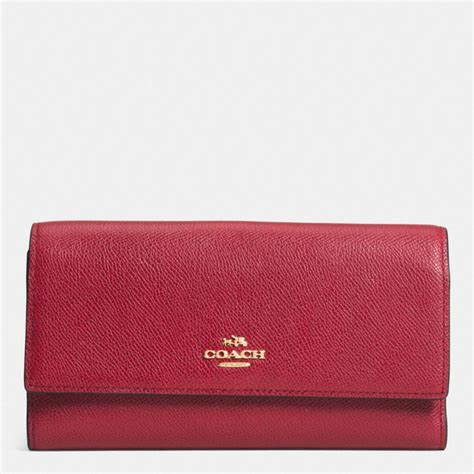 Coach Checkbook Wallet 10 coach checkbook wallet in colorblock leather in lyst