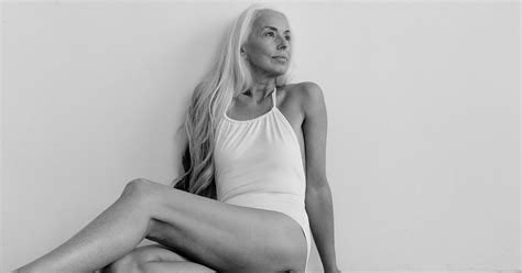 60 year old fashion 60 year old swimsuit model yazemeenah rossi popsugar fashion