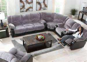 Grey Reclining Sectional Gray 3 Pc Sectional New Furniture For The House