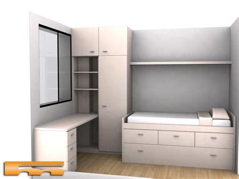 cama compacta nido doble  armario  escritorio habitacion juvenil  medida barcelona marta