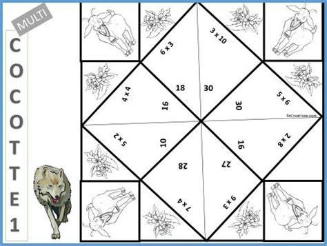 reviser les tables de multiplications ce2 r 233 viser les tables de multiplication les multicocottes