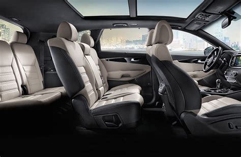 Kia Sorento Seating What S New On The 2017 Kia Sorento