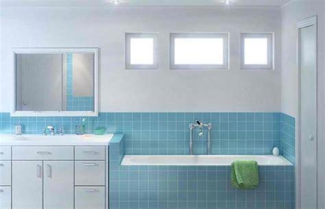 desain dapur minimalis warna biru keramik dinding untuk kamar mandi dan dapur rumah
