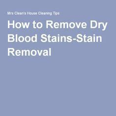 How To Get Blood Stains Out Of Mattress by 1000 Ideas About Remove Blood Stains On How