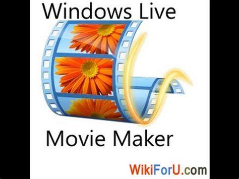 tutorial come usare windows live movie maker tutorial youtube come montare video con windows movie