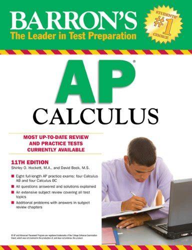 barron s ap calculus 14th edition barrons ap calculus 11th edition read pdf
