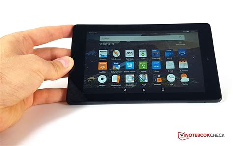 amazon tablet amazon fire 7 2017 tablet review notebookcheck net reviews