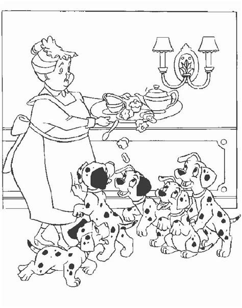 free coloring pages of dalmatian 101 dalmatians coloring pages color me tickled pink