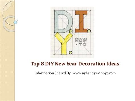 new year decorations information top 8 diy decoration ideas for new year s