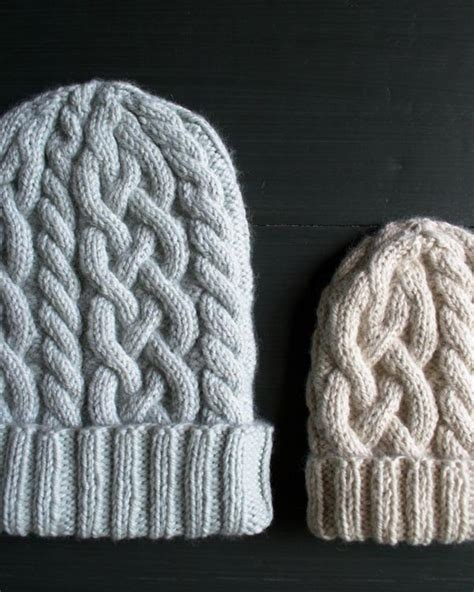 knit picky definition traveling cable hat purl soho