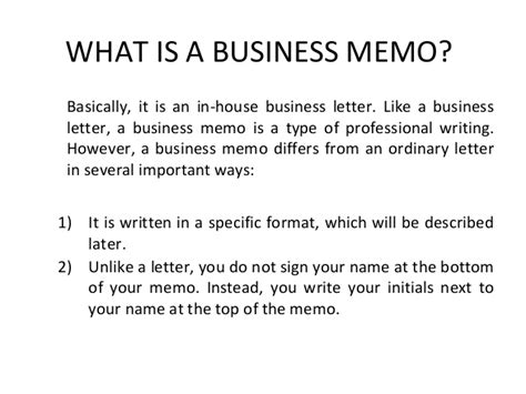 What Is Corporate Mba by Mba Sem 2 Unit 3 Memo Writing