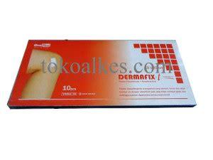 Plester Dermafix T 10 X 25 Cm Eceran dermafix t plester transparan anti air 10 x 25 cm