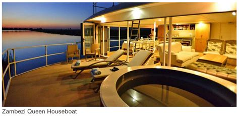 houseboat zambezi queen houseboat safari holidays in southern africa