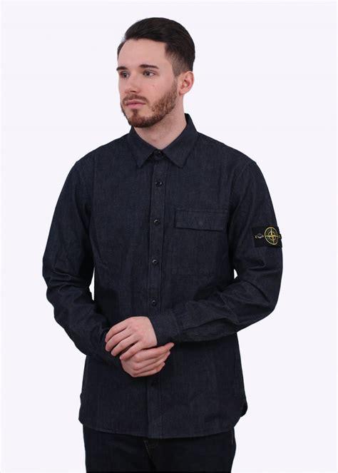Denim Washed Shirt island washed denim shirt indigo