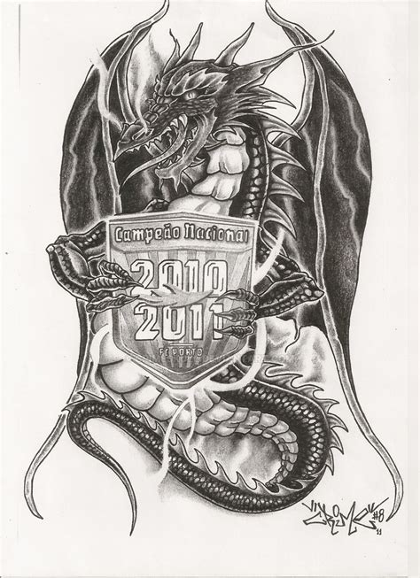 dragon tattoo design by crimeskull on deviantart