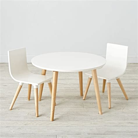 Table And Chairs by Wooden Play Table Chair Sets The Land Of Nod