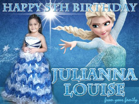 frozen wallpaper for tarpaulin julianna s frozen them tarp layout cebu balloons and